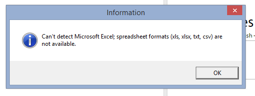 Error related to Excel files in Glossary Converter (previous