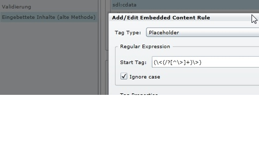 XML Filter with CDATA HTML Content , with embedded legacy