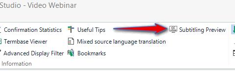 Studio Subtitling - Subtitling - Translation Productivity