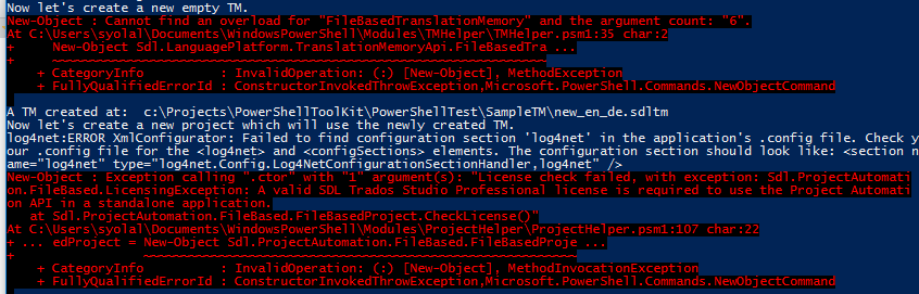 SDL PowerShell Toolkit - Getting started - Language