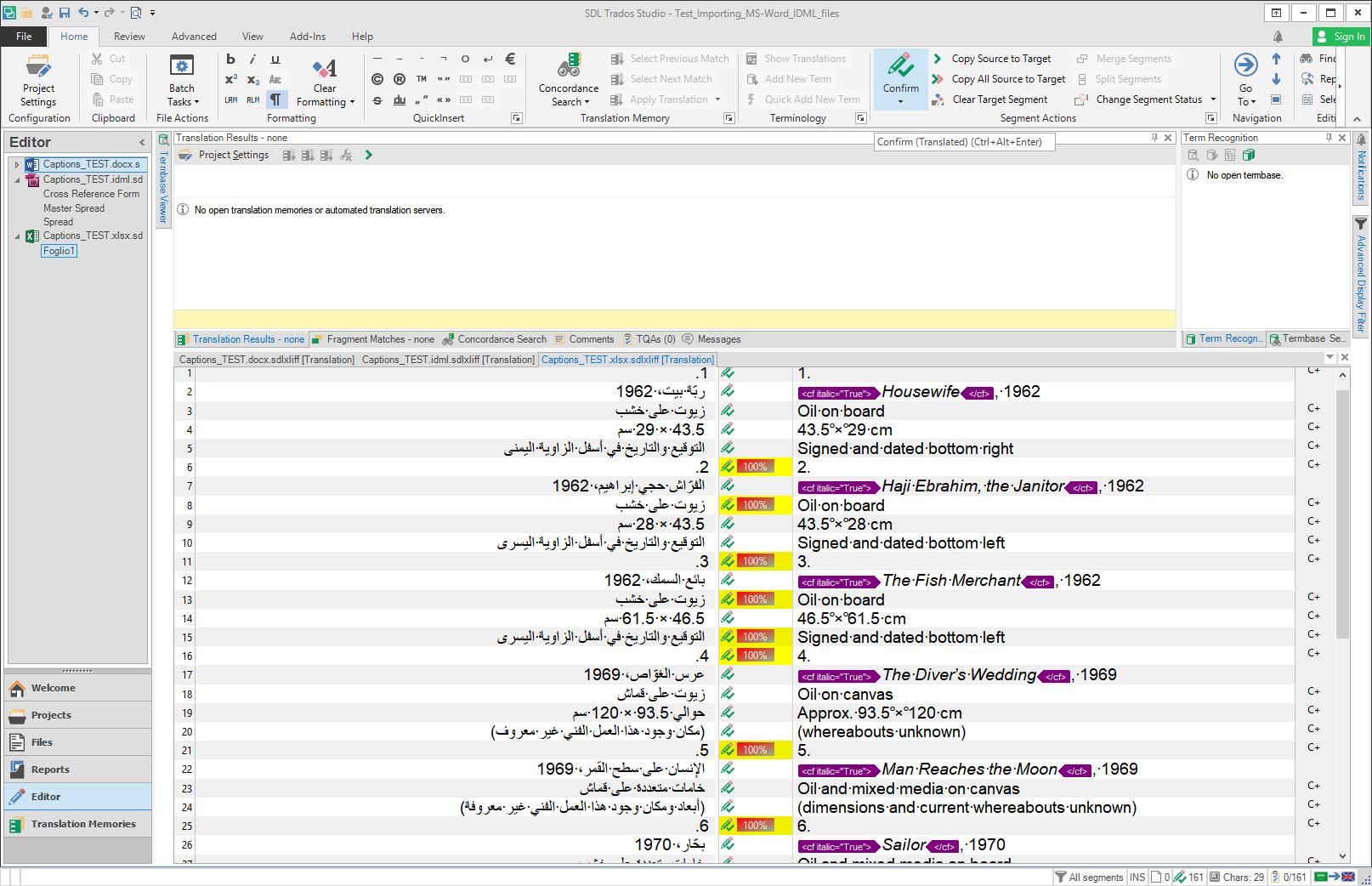 how to change language on trados studio