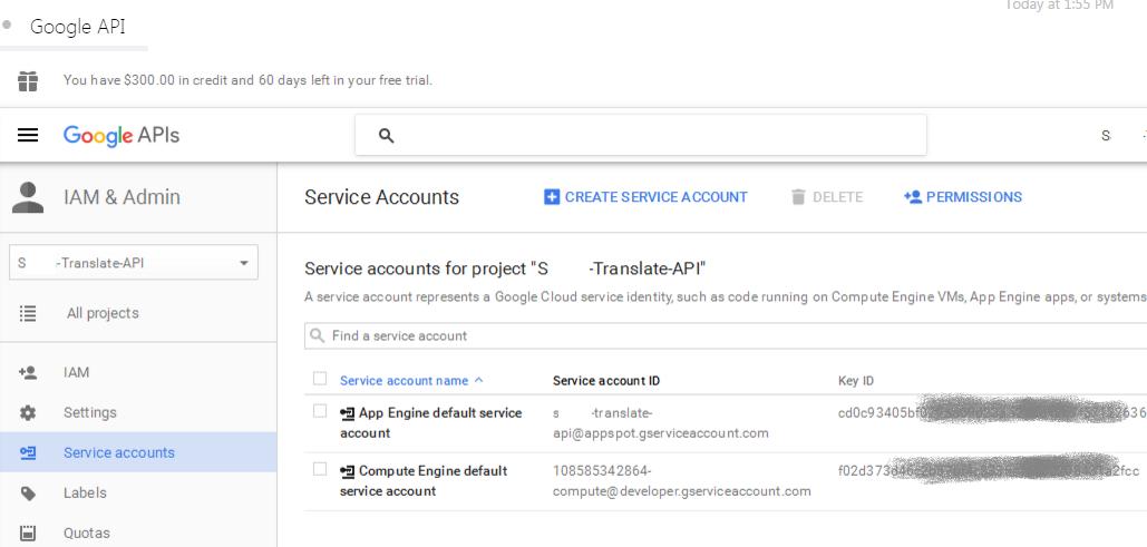 how to get my google api key