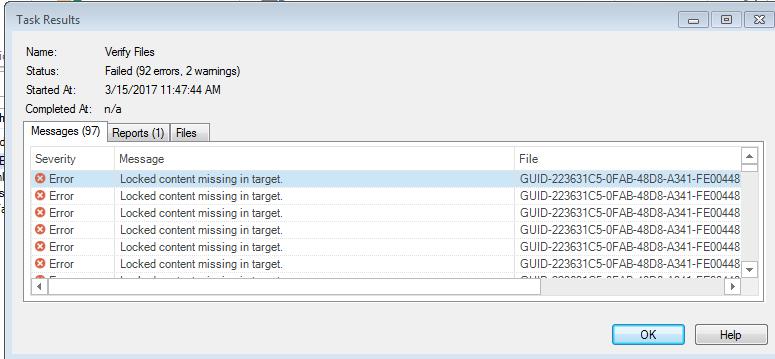 Missing tags in target after upgrade to SR3 - SDL Trados Studio