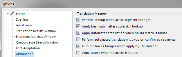track changes function