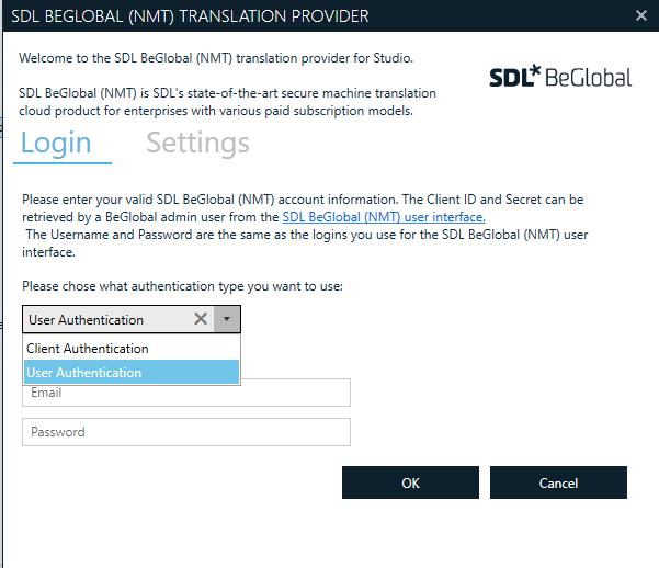 SDL BeGlobal Translation provider - Customer Experience