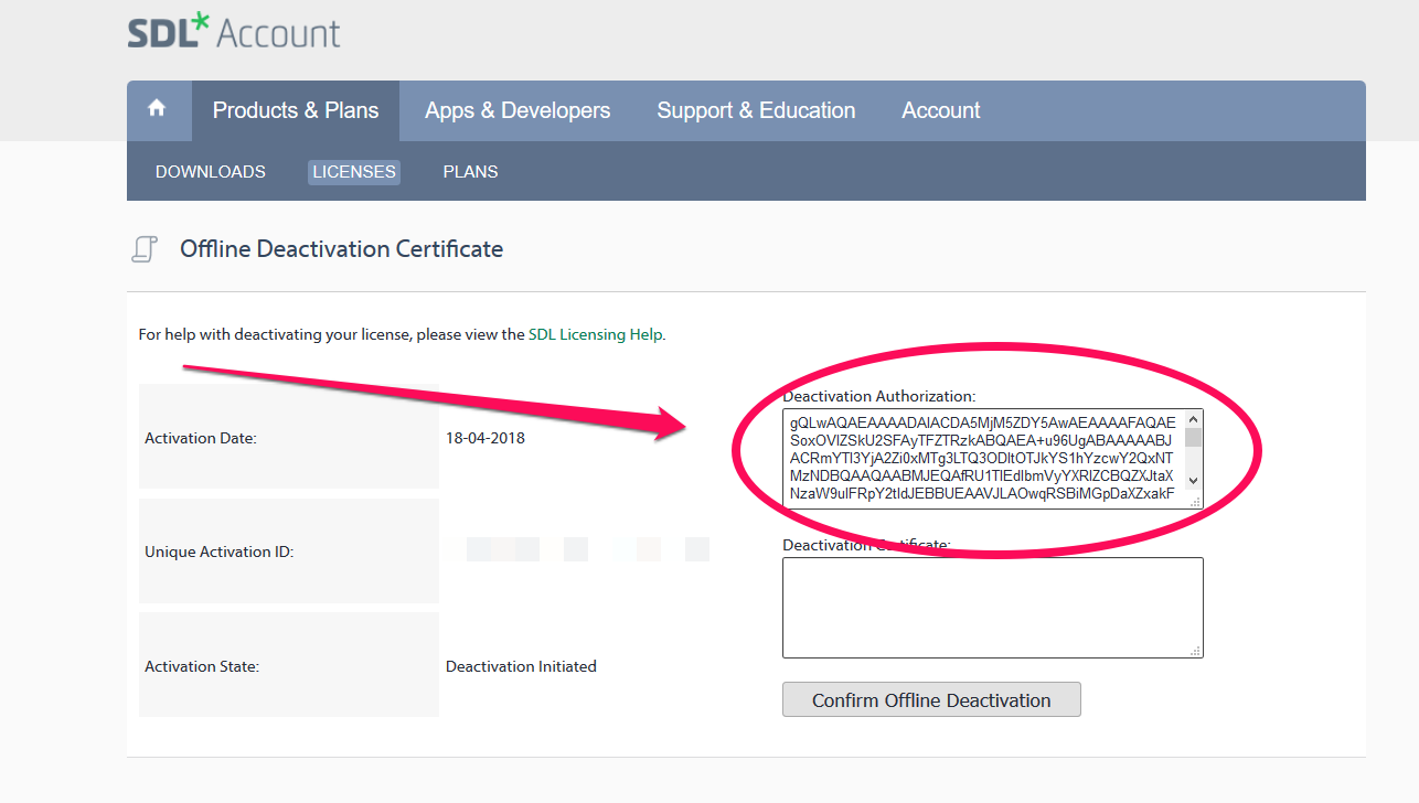 How to    Deactivate my Studio licence? - Customer Experience