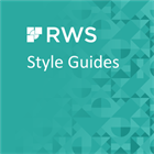 Style Guide ZH-TW