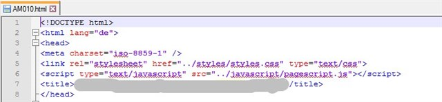 Isolate HTML text to be translated as defined by custom tag