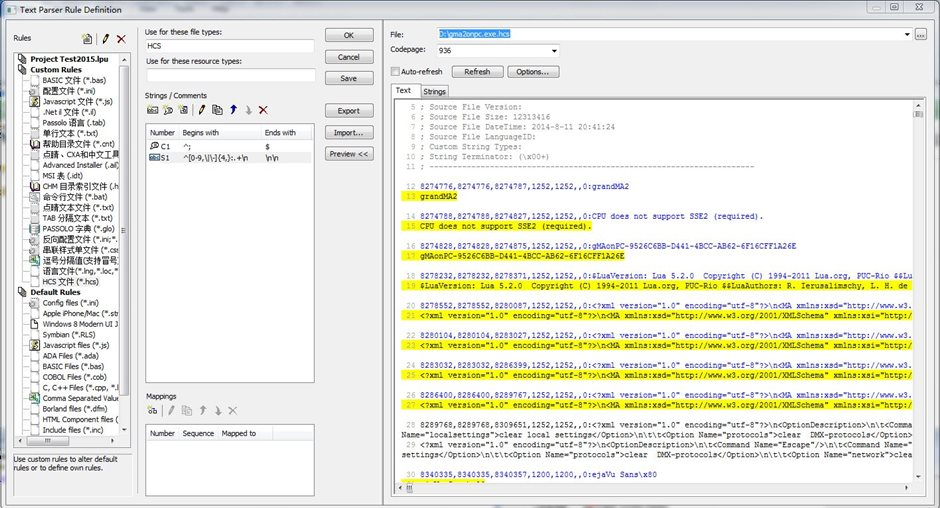 This is a bug in Passolo Add-in Text Parser? - SDL Passolo - General